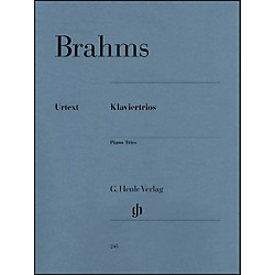 G. Henle Verlag Piano Trios By Brahms (51480245)
