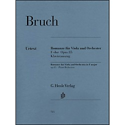 G. Henle Verlag Romance for Viola and Orchestra in F Major Op. 85 By Bruch (51480785)