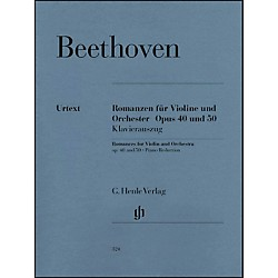 G. Henle Verlag Romances For Violin And Orchestra Op. 40 & 50 In G And F Major By Beethoven (51480324)