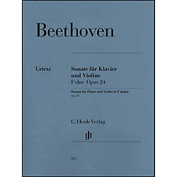 G. Henle Verlag Sonata For Piano And Violin F Major Op. 24 (Spring Sonata) By Beethoven (51480162)