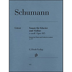 G. Henle Verlag Sonata for Piano and Violin in A Minor Op. 105 By Schumann (51480428)