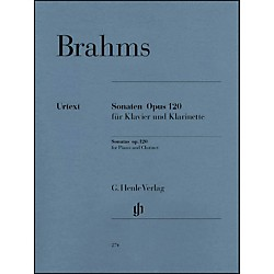 G. Henle Verlag Sonatas For Piano And Clarinet (Or Viola) Op. 120, Nos. 1 And 2 By Brahms (51480274)