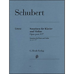 G. Henle Verlag Sonatinas For Piano And Violin Opus Post 137 By Schubert (51480006)