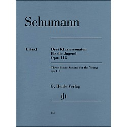G. Henle Verlag Three Piano Sonatas For The Young Op. 118 By Schumann / Herttrich (51480155)