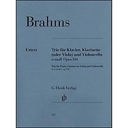 G. Henle Verlag Trio For Piano, Clarinet (Or Viola) And Violoncello In A Minor Op. 114 By Brahms (51480322)