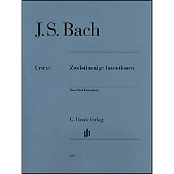 G. Henle Verlag Two Part Inventions BWV 772-786 By Bach (51480169)