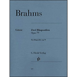 G. Henle Verlag Two Rhapsodies Op. 79 By Brahms (51480119)