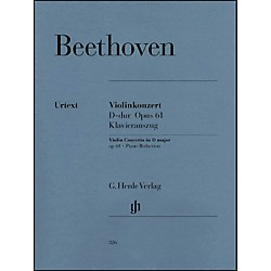 G. Henle Verlag Violin Concerto In D Major Op. 61 Piano Reduction By Beethoven (51480326)