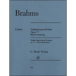 G. Henle Verlag Violin Concerto in D Major, Op. 77 By Brahms (51480818)