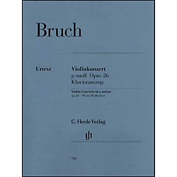 G. Henle Verlag Violin Concerto in G Minor Op. 26 By Bruch (51480708)