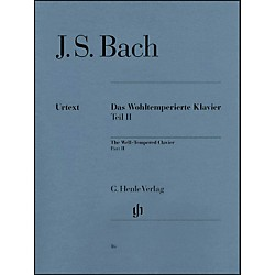 G. Henle Verlag Well-Tempered Clavier BWV 870-893 Part II By Bach (51480016)