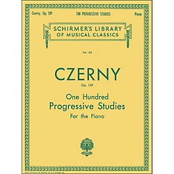 G. Schirmer 100 Progressive Studies Without Octaves Op 139 By Czerny (50253090)