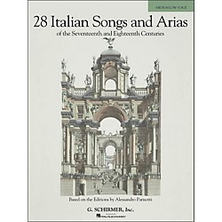 G. Schirmer 28 Italian Songs And Arias Of The 17th And 18th Centuries For Medium Low (50485629)