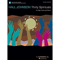 G. Schirmer 30 Spirituals For High Voice Book/CD (50486340)