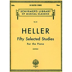 G. Schirmer 50 Selected Studies For Piano By Heller (50252140)