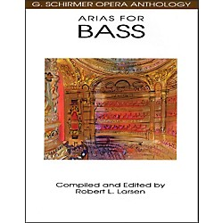 G. Schirmer Arias For Bass G Schirmer Opera Anthology (50481101)