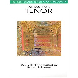 G. Schirmer Arias For Tenor G Schirmer Opera Anthology (50481099)