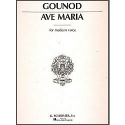 G. Schirmer Ave Maria In E Flat For Medium Voice By Bach / Gounod (50272840)