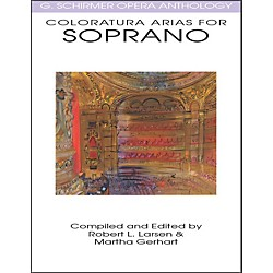 G. Schirmer Coloratura Arias For Soprano G Schirmer Opera Anthology (50483986)
