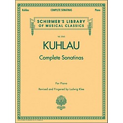 G. Schirmer Complete Sonatinas For Piano Vol. 2065 By Kuhlau (50486407)