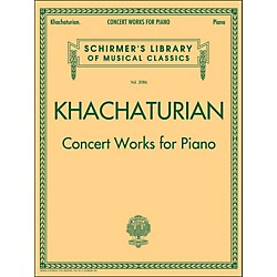 G. Schirmer Concert Works For Piano - Schirmer Library By Khachaturian (50490022)