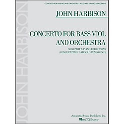 G. Schirmer Concerto For Bass Viol And Orchestra Double Bass And Piano Reductions By Harbison (50486941)
