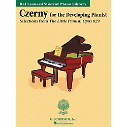 G. Schirmer Czerny Book Only Selections From The Little Pianist Opus 823 Hal Leonard Student Piano Library (296364)