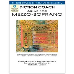 G. Schirmer Diction Coach - Arias For Mezzo-Soprano G. Schirmer Opera Anthology Book/2CD's (50486257)