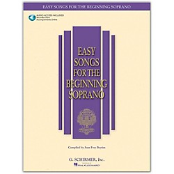 G. Schirmer Easy Songs For The Beginning For Soprano Book/CD (50483756)