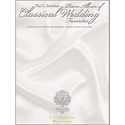 G. Schirmer G. Schirmer Piano Album Of Classical Wedding Favorites (50482656)