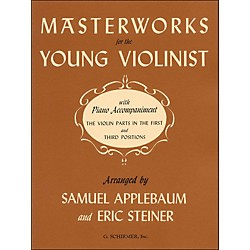 G. Schirmer Masterworks For Young Violinist With Piano Accompaniment (50328560)