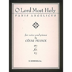G. Schirmer Panis Angelicus (O Lord Most Holy) In G For Medium Voice By Franck (50289530)