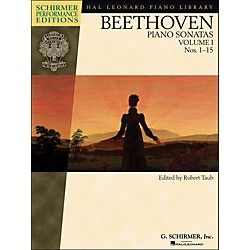 G. Schirmer Piano Sonatas Vol.1 (1 - 15) Schirmer Performance Edition Book Only By Beethoven / Taub (296632)