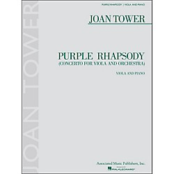 G. Schirmer Purple Rhapsody (Concerto For Viola And Orchestra) For Viola And Piano By Tower (50486854)