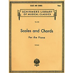 G. Schirmer Scales and Chords in all the Major and Minor Keys (50254710)