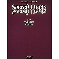G. Schirmer Schirmer's Favorite Sacred Duets For Various Voices (50328980)