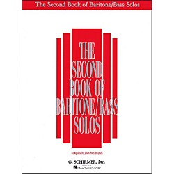 G. Schirmer Second Book Of Baritone  /Bass Solos (50482071)
