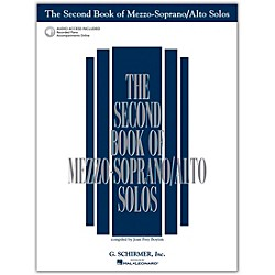 G. Schirmer Second Book Of Mezzo-Soprano / Alto Solos Book/CD Pkg (50483790)