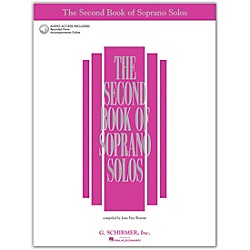 G. Schirmer Second Book Of Soprano Solos Book/2CD Pkg (50483789)