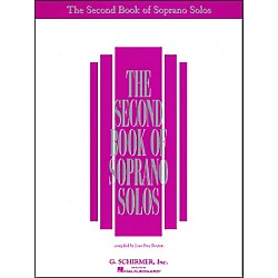 G. Schirmer Second Book Of Soprano Solos (50482068)