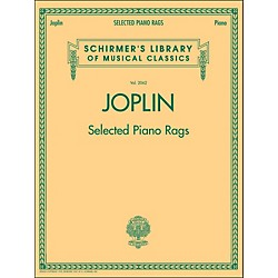 G. Schirmer Selected Piano Rags By Joplin (50486376)