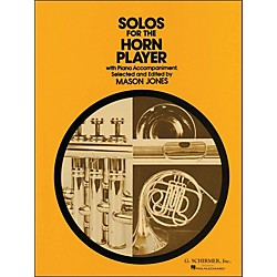 G. Schirmer Solos For Horn Player With Piano Accompaniment (50330050)