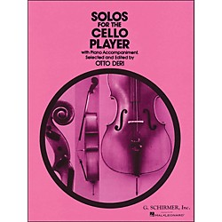 G. Schirmer Solos For The Cello Player With Piano Accompaniment (50329300)