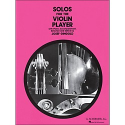 G. Schirmer Solos For The Violin Player With Piano Accompaniment By Gingold (50329870)