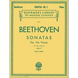G. Schirmer Sonatas For Piano Book 2 By Beethoven (50251930)