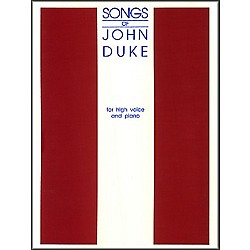 G. Schirmer Songs Of John Duke For High Voice (50488485)