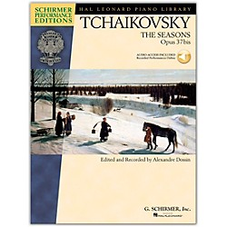 G. Schirmer The Seasons - Schirmer Performance Edition Book/CD By Tchaikovsky / Dossin (296752)