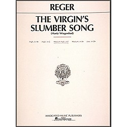 G. Schirmer Virgin's Slumber Song By Max Reger For Medium High Voice In F Major (50223020)