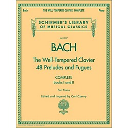 G. Schirmer Well-Tempered Clavier Complete Books 1 & 2 For Piano By Bach (50485898)
