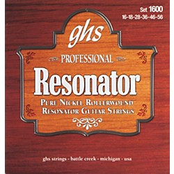 GHS 1600 Acoustic Slide Guitar Strings (1600)